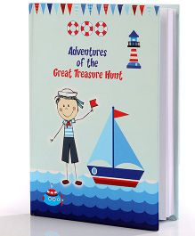 Baby Oodles Notebook Sailor Theme Blue - 80 Pages