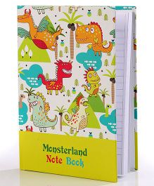 Baby Oodles Notebook Monster Land Theme Multicolor - 80 Pages