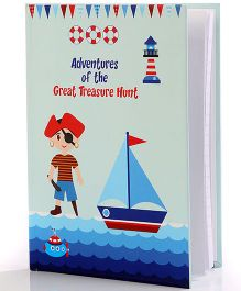 Baby Oodles Notebook Pirate Theme Blue - 80 Pages
