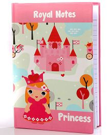 Baby Oodles Notebook Princess Theme Pink -  - 80 Pages