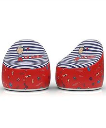 Baby Oodles Li'l Sailor Bean Bag - Multicolor