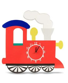 Baby Oodles Engine Wall Clock - Red