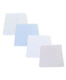 Spasilk Set Of 4 Blankets - Multicolour