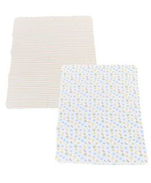 Spasilk Printed 2 Ply Set Of 2 Blankets - Multicolour