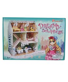 CubicFun Dreamy Dollhouse 3D Puzzle - 160 Pieces