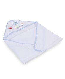 Spasilk Hooded Towel - White