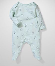 Sterling Baby Star Print Onesie - Blue