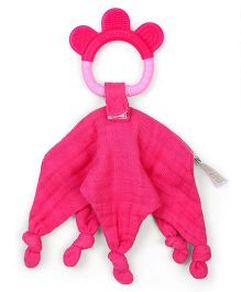 I play Blankie Teether - Pink