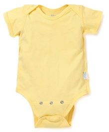 I Play Snap Button Onesie - Yellow
