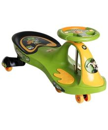 Toyzone Ben 10 Magic Swing Car - Green