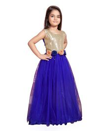 Betty by Tiny Kingdom Evening Gown - Blue