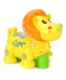 Kumar Toys Lively Lion Projection Toy - Yellow