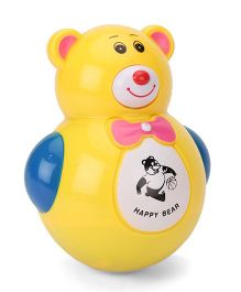 Smart Picks Roly Poly Animal World Happy Bear Toy - Yellow