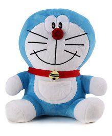 Doraemon Soft Toy Blue - 10 Inches
