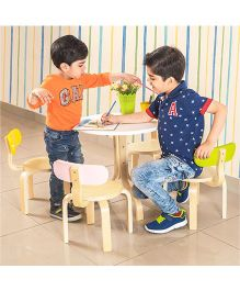 Alex Daisy Tods Activity Table & Chair - 5 Pieces