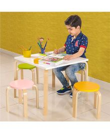 Alex Daisy Buddy Activity Table & Stool - 5 Piece Set