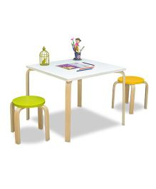 Alex Daisy Buddy Activity Table & Stool - 3 Piece Set