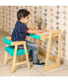 Alex Daisy Pineworks Desk & Chair Set - Blue