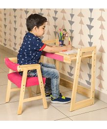 Alex Daisy Pineworks Desk & Chair Set - Pink