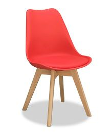 Alex Daisy Nordic Chair - Red