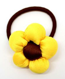 Eternz Haedos Collection Flower Rubber Band - Yellow