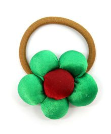 Eternz Haedos Collection Flower Rubber Band - Green