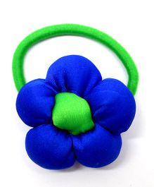 Eternz Haedos Collection Flower Rubber Band - Blue