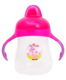 1st Step Hard Spout Cup Pink - 250 ml