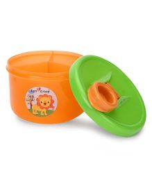 1st Step Milk Powder Container - Orange