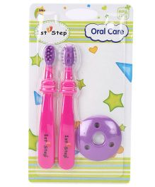 1st Step Oral Care - Pink