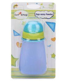 1st Step Squ-easy Feeder - Blue