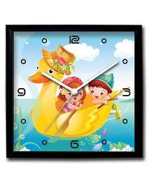 Stybuzz Printed Wall Clock - Blue