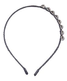 Cutecumber Partywear Hair Band Stone Design - Black