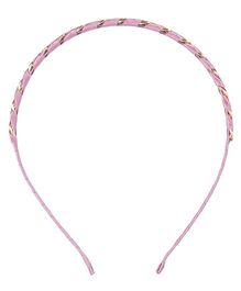 Cutecumber Party Wear Hair Band - Pink