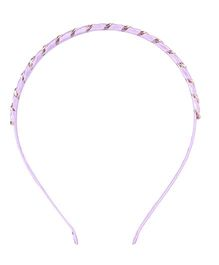 Cutecumber Party Wear Hair Band - Purple