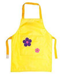 Li'll Pumpkins Flower Apron - Yellow