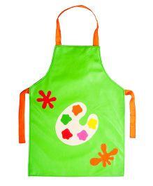 Li'll Pumpkins Colour Palette Apron - Green