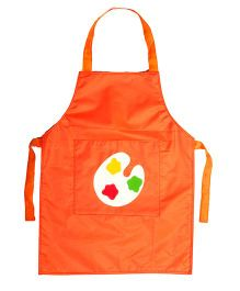 Li'll Pumpkins Colour Palette Apron - Orange