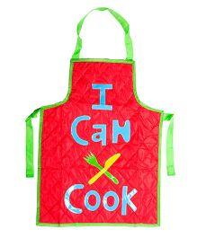 Li'll Pumpkins I Can Cook Apron - Red