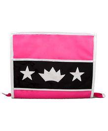 Li'll Pumpkins Crown & Star Clip Organizer - Pink