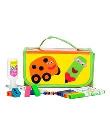 Li'll Pumpkins School Stationary Organizer - Yellow