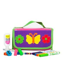 Li'll Pumpkins Butterfly Stationary Organizer - Purple