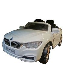 Next Gen Kids Battery Operated SuperStar Car With Remote Control - White