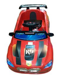 Next Gen Battery Operated Sport Racing Car With Remote Control - Red