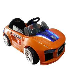 Next Gen Battery Operated Remote Control Porsche Car Ride On - Orange