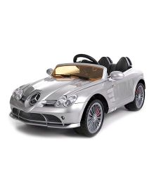 Next Gen Remote Control Battery Operated Mercede Benz Car Ride On - Silver
