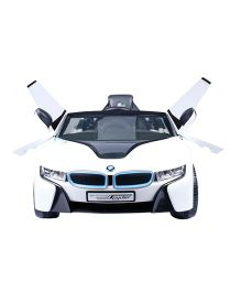 Next Gen Battery Operated Remote Control BMW Spyder Car Ride On - White