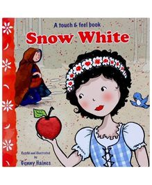 MEGAPS Snow White Touch And Feel Book