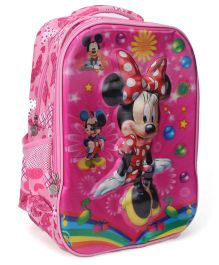 Disney Minnie Mouse School Bag Pink - 16 inches