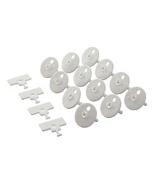 Dreambaby Amp Outlet Plug Point White - 12 Pieces